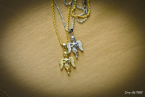 ANGEL PIECE - GOLD - ACCESSORIES, Golden Gilt, SNEAKER STUDIO, DESIGN BY TSS