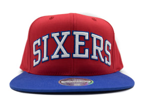 76ers Flex Wordmark Snapback - HEADWEAR, MITCHELL & NESS, SNEAKER STUDIO, GOLDEN GILT, DESIGN BY TSS