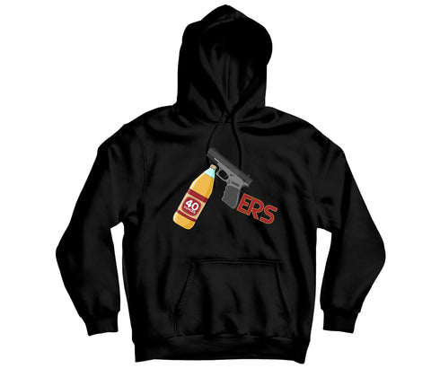 49ERS Custom Hoodie - TOPS, TSS CUSTOM GRPHX, SNEAKER STUDIO, GOLDEN GILT, DESIGN BY TSS