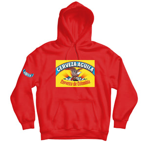 Aguila Cerveza HOODIE - TOPS, TSS CUSTOM GRPHX, SNEAKER STUDIO, GOLDEN GILT, DESIGN BY TSS