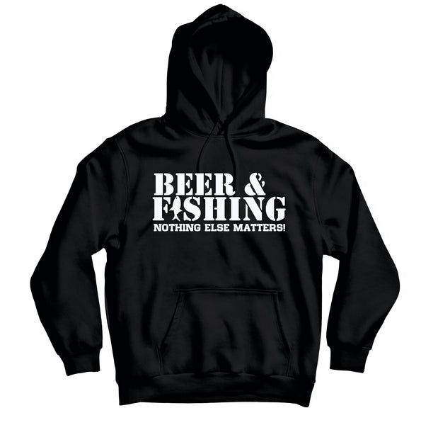 Beer And Fishing - HOODIE - TOPS, TSS CUSTOM GRPHX, SNEAKER STUDIO, GOLDEN GILT, DESIGN BY TSS