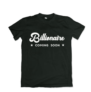 Billionaire Tee Shirt - TOPS, TSS CUSTOM GRPHX, SNEAKER STUDIO, GOLDEN GILT, DESIGN BY TSS