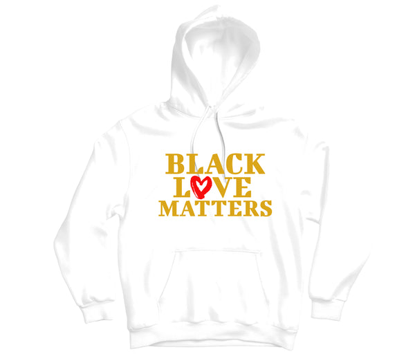 Black Love Matters Hoodie - TOPS, TSS CUSTOM GRPHX, SNEAKER STUDIO, GOLDEN GILT, DESIGN BY TSS