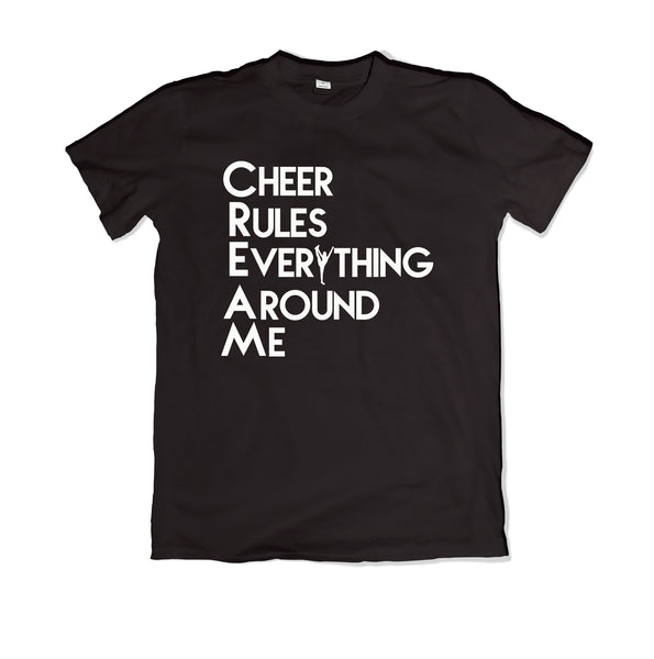 Cheer Rules T-Shirt - TOPS, TSS CUSTOM GRPHX, SNEAKER STUDIO, GOLDEN GILT, DESIGN BY TSS