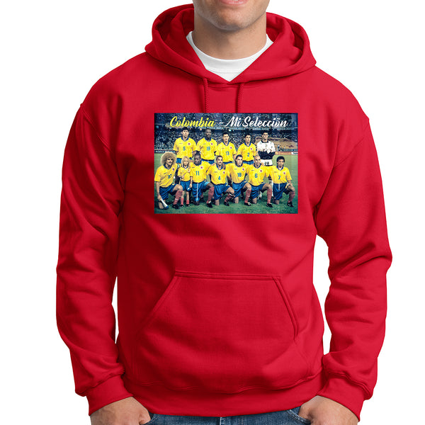 Colombia Mi Seleccion HOODIE - TOPS, TSS CUSTOM GRPHX, SNEAKER STUDIO, GOLDEN GILT, DESIGN BY TSS