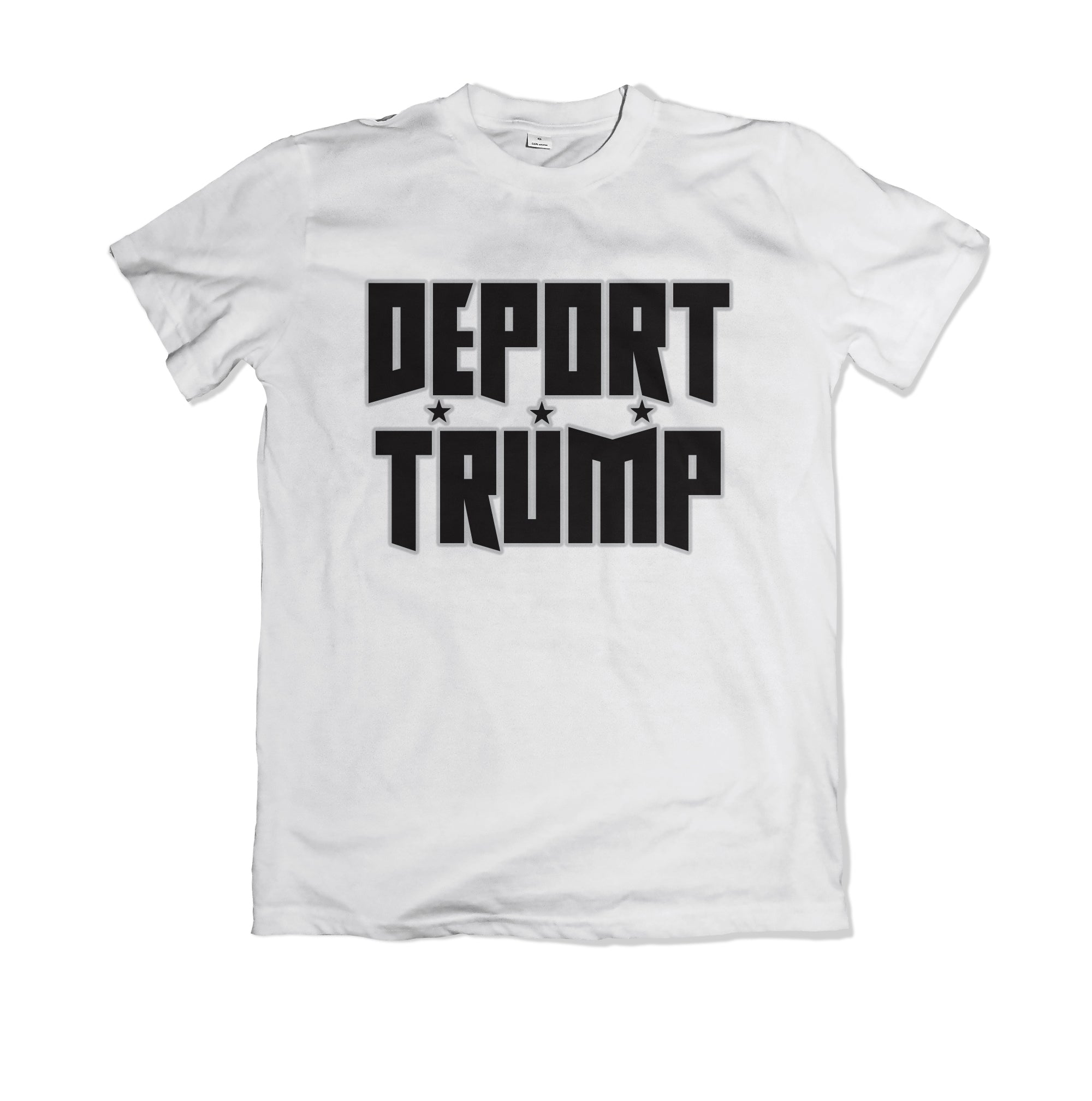 Deport Trump Custom T-Shirt - TOPS, TSS CUSTOM GRPHX, SNEAKER STUDIO, GOLDEN GILT, DESIGN BY TSS
