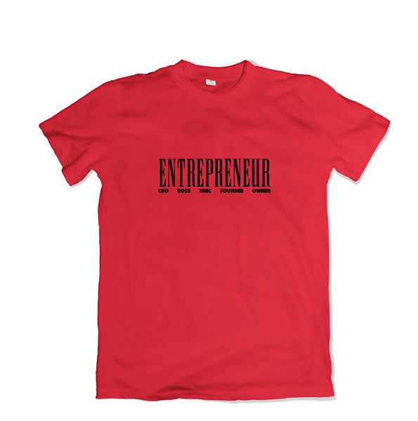 Entrepreneur T-Shirt - TOPS, TSS CUSTOM GRPHX, SNEAKER STUDIO, GOLDEN GILT, DESIGN BY TSS
