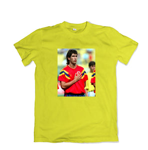 ANDRES ESCOBAR Tee Shirt - TOPS, TSS CUSTOM GRPHX, SNEAKER STUDIO, GOLDEN GILT, DESIGN BY TSS