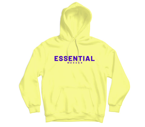 Essential Worker Hoodie - TOPS, TSS CUSTOM GRPHX, SNEAKER STUDIO, GOLDEN GILT, DESIGN BY TSS