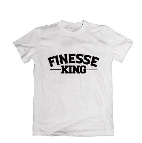 Finesse King T-Shirt - TOPS, TSS CUSTOM GRPHX, SNEAKER STUDIO, GOLDEN GILT, DESIGN BY TSS