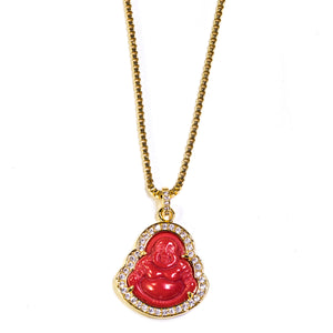Red Buddha - ACCESSORIES, Golden Gilt, SNEAKER STUDIO, GOLDEN GILT, DESIGN BY TSS