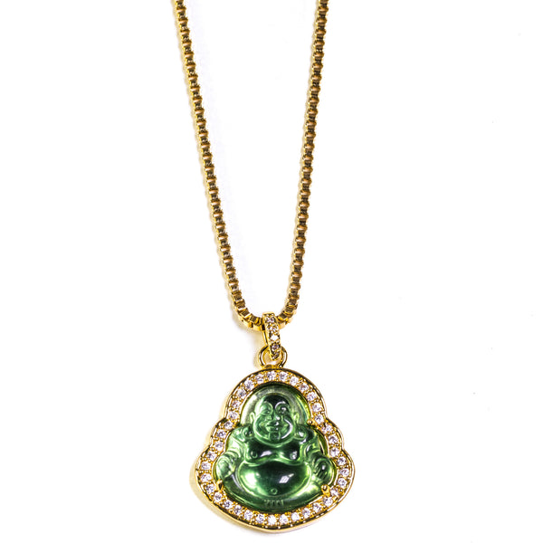 GREEN BUDDHA PIECE - ACCESSORIES, Golden Gilt, SNEAKER STUDIO, GOLDEN GILT, DESIGN BY TSS