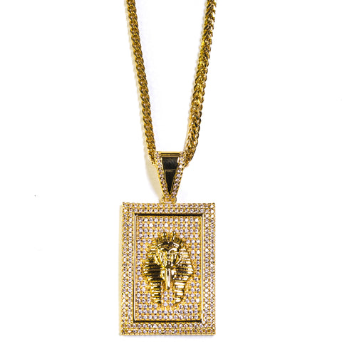 SQUARE TUT PENDANT - ACCESSORIES, Golden Gilt, SNEAKER STUDIO, GOLDEN GILT, DESIGN BY TSS