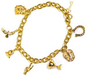 LUCKY CHARM BRACELET - ACCESSORIES, Golden Gilt, SNEAKER STUDIO, GOLDEN GILT, DESIGN BY TSS