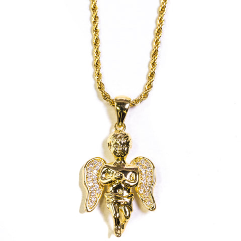 ANGEL PIECE - GOLD - ACCESSORIES, Golden Gilt, SNEAKER STUDIO, GOLDEN GILT, DESIGN BY TSS