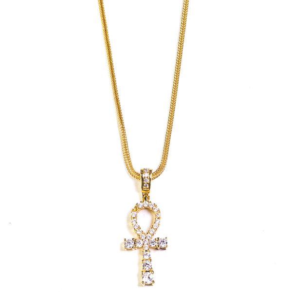 Ankh - 18k Gold Plated - ACCESSORIES, Golden Gilt, SNEAKER STUDIO, GOLDEN GILT, DESIGN BY TSS
