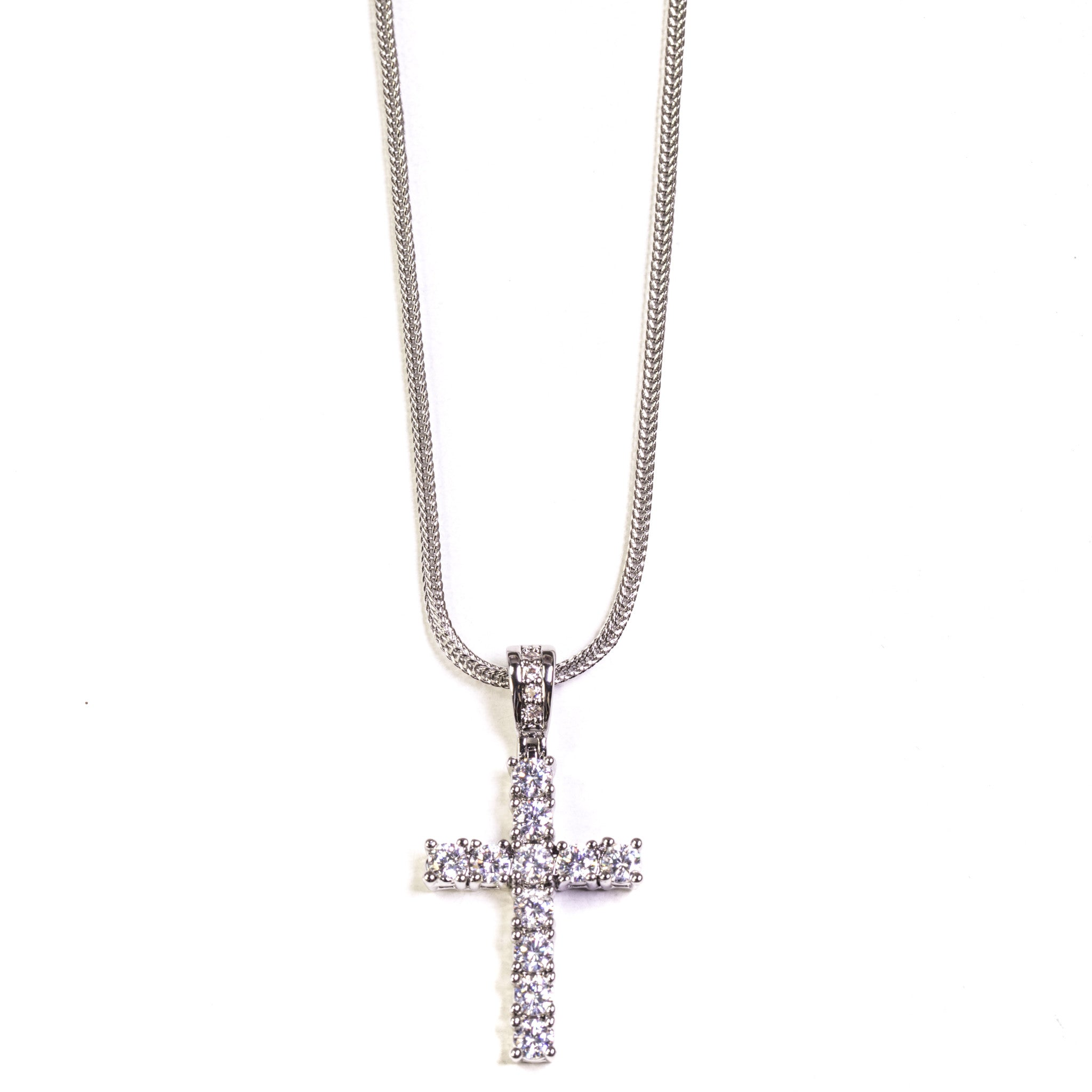 Cross - Silver Polished - ACCESSORIES, Golden Gilt, SNEAKER STUDIO, GOLDEN GILT, DESIGN BY TSS