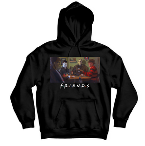 Halloween F.R.I.E.N.D.S HOODIE - TOPS, TSS CUSTOM GRPHX, SNEAKER STUDIO, GOLDEN GILT, DESIGN BY TSS
