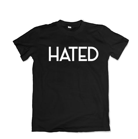 HATED Custom T-Shirt - TOPS, TSS CUSTOM GRPHX, SNEAKER STUDIO, GOLDEN GILT, DESIGN BY TSS