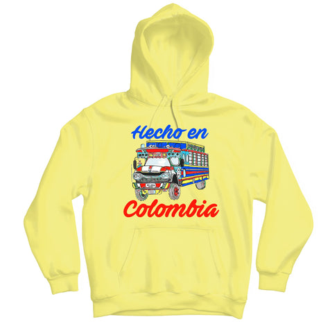 Hecho en Colombia Hoodie - TOPS, TSS CUSTOM GRPHX, SNEAKER STUDIO, GOLDEN GILT, DESIGN BY TSS