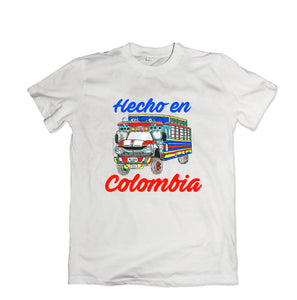 Hecho En Colombia Tee - TOPS, TSS CUSTOM GRPHX, SNEAKER STUDIO, GOLDEN GILT, DESIGN BY TSS