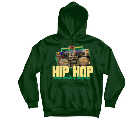 Hip Hop Was Better Hoody - TOPS, TSS CUSTOM GRPHX, SNEAKER STUDIO, GOLDEN GILT, DESIGN BY TSS