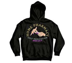 Home Pharmacy Hoodie - TOPS, TSS CUSTOM GRPHX, SNEAKER STUDIO, GOLDEN GILT, DESIGN BY TSS