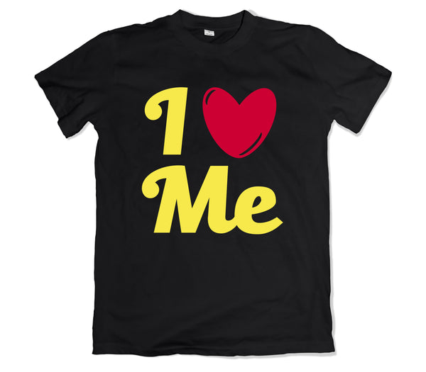I Love Me T-SHIRT - TOPS, TSS CUSTOM GRPHX, SNEAKER STUDIO, GOLDEN GILT, DESIGN BY TSS