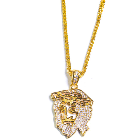 GHOST JESUS FACE - ACCESSORIES, Golden Gilt, SNEAKER STUDIO, GOLDEN GILT, DESIGN BY TSS