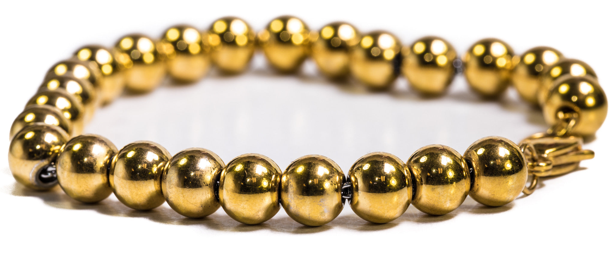 Beaded Moon Bracelet - 18k Gold Plated - ACCESSORIES, Golden Gilt, SNEAKER STUDIO, GOLDEN GILT, DESIGN BY TSS