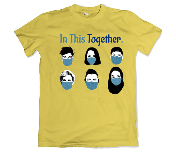 In This Together Tee Shirt - TOPS, TSS CUSTOM GRPHX, SNEAKER STUDIO, GOLDEN GILT, DESIGN BY TSS