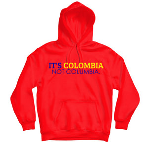 It's Colombia HOODIE - TOPS, TSS CUSTOM GRPHX, SNEAKER STUDIO, GOLDEN GILT, DESIGN BY TSS