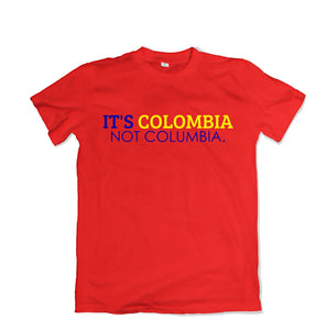 It's Colombia Tee - TOPS, TSS CUSTOM GRPHX, SNEAKER STUDIO, GOLDEN GILT, DESIGN BY TSS