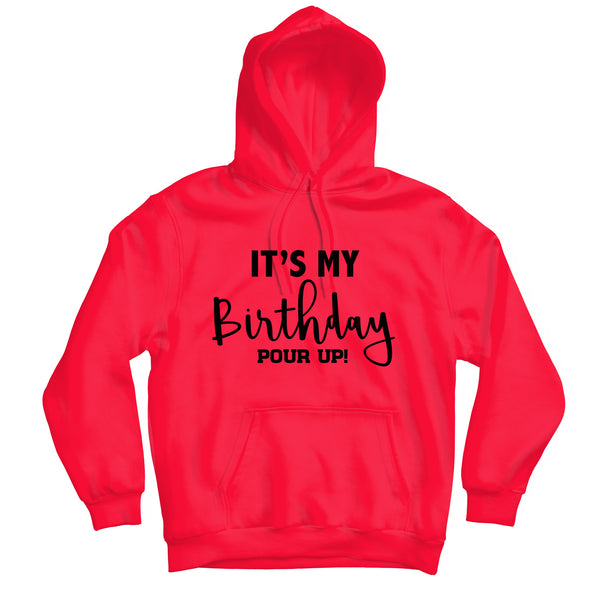 It's My Birthday Hoodie - TOPS, TSS CUSTOM GRPHX, SNEAKER STUDIO, GOLDEN GILT, DESIGN BY TSS
