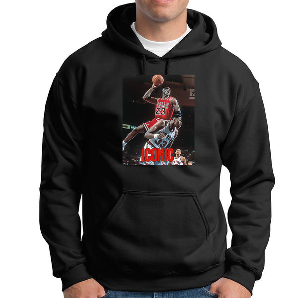 Jordan Dunks on Ewing HOODIE - TOPS, TSS CUSTOM GRPHX, SNEAKER STUDIO, GOLDEN GILT, DESIGN BY TSS