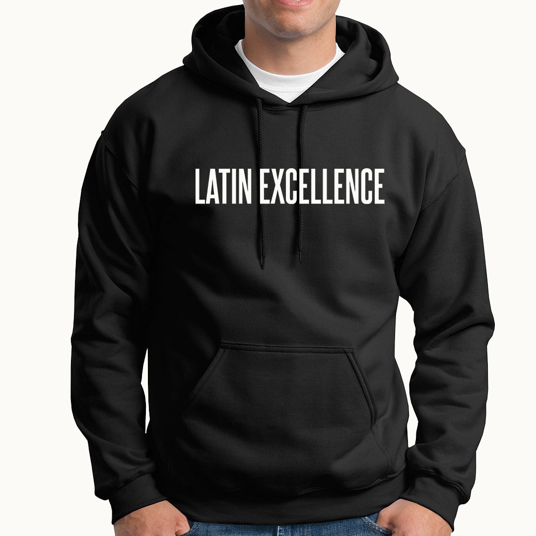 Latin Excellence HOODIE - TOPS, TSS CUSTOM GRPHX, SNEAKER STUDIO, GOLDEN GILT, DESIGN BY TSS
