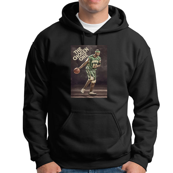 Lebron Chosen One Tee Hoodie - TOPS, TSS CUSTOM GRPHX, SNEAKER STUDIO, GOLDEN GILT, DESIGN BY TSS