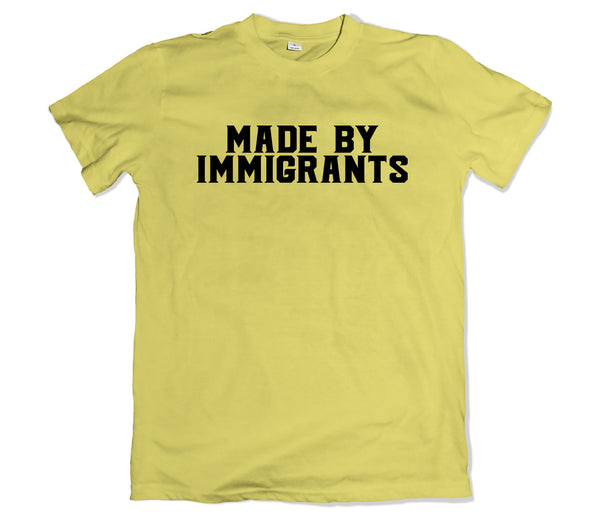 Made by Immigrants Tee - TOPS, TSS CUSTOM GRPHX, SNEAKER STUDIO, GOLDEN GILT, DESIGN BY TSS