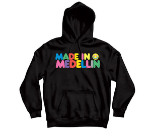 Made in Medellin HOODIE - TOPS, TSS CUSTOM GRPHX, SNEAKER STUDIO, GOLDEN GILT, DESIGN BY TSS
