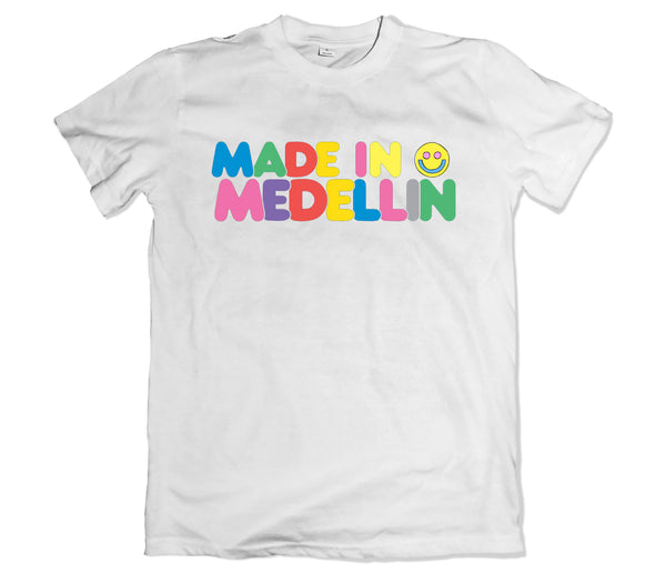 Made in Medellin Tee - TOPS, TSS CUSTOM GRPHX, SNEAKER STUDIO, GOLDEN GILT, DESIGN BY TSS