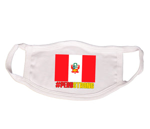 Protective Cotton Face Mask - Peru Strong