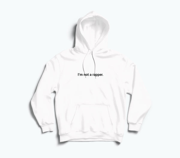 Im Not A Rapper Hoodie - TOPS, TSS CUSTOM GRPHX, SNEAKER STUDIO, GOLDEN GILT, DESIGN BY TSS