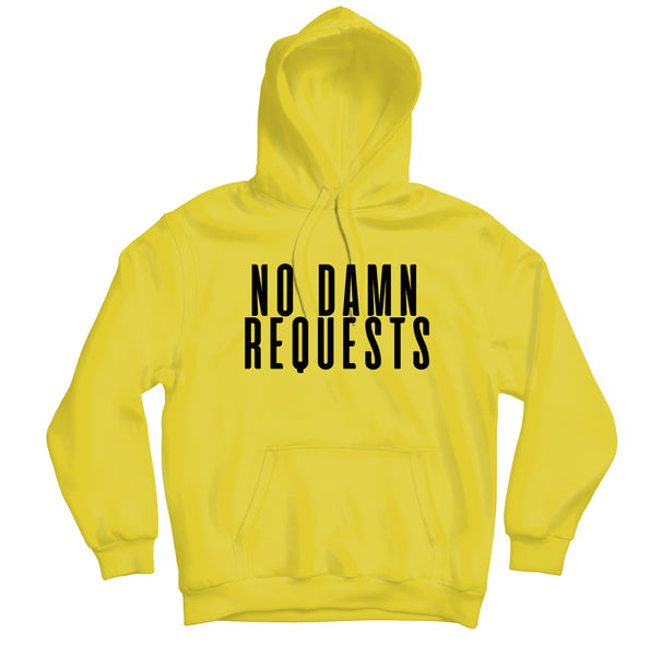 No Requests Hoodie - TOPS, TSS CUSTOM GRPHX, SNEAKER STUDIO, GOLDEN GILT, DESIGN BY TSS