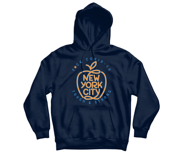New York Covid-19 Hoodie - TOPS, TSS CUSTOM GRPHX, SNEAKER STUDIO, GOLDEN GILT, DESIGN BY TSS