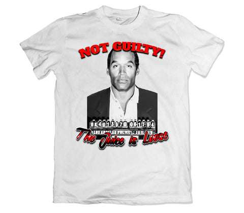 OJ SIMPSON Not Guilty T-Shirt