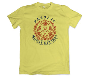 Passaic Money Getters Tee Shirt - TOPS, TSS CUSTOM GRPHX, SNEAKER STUDIO, GOLDEN GILT, DESIGN BY TSS
