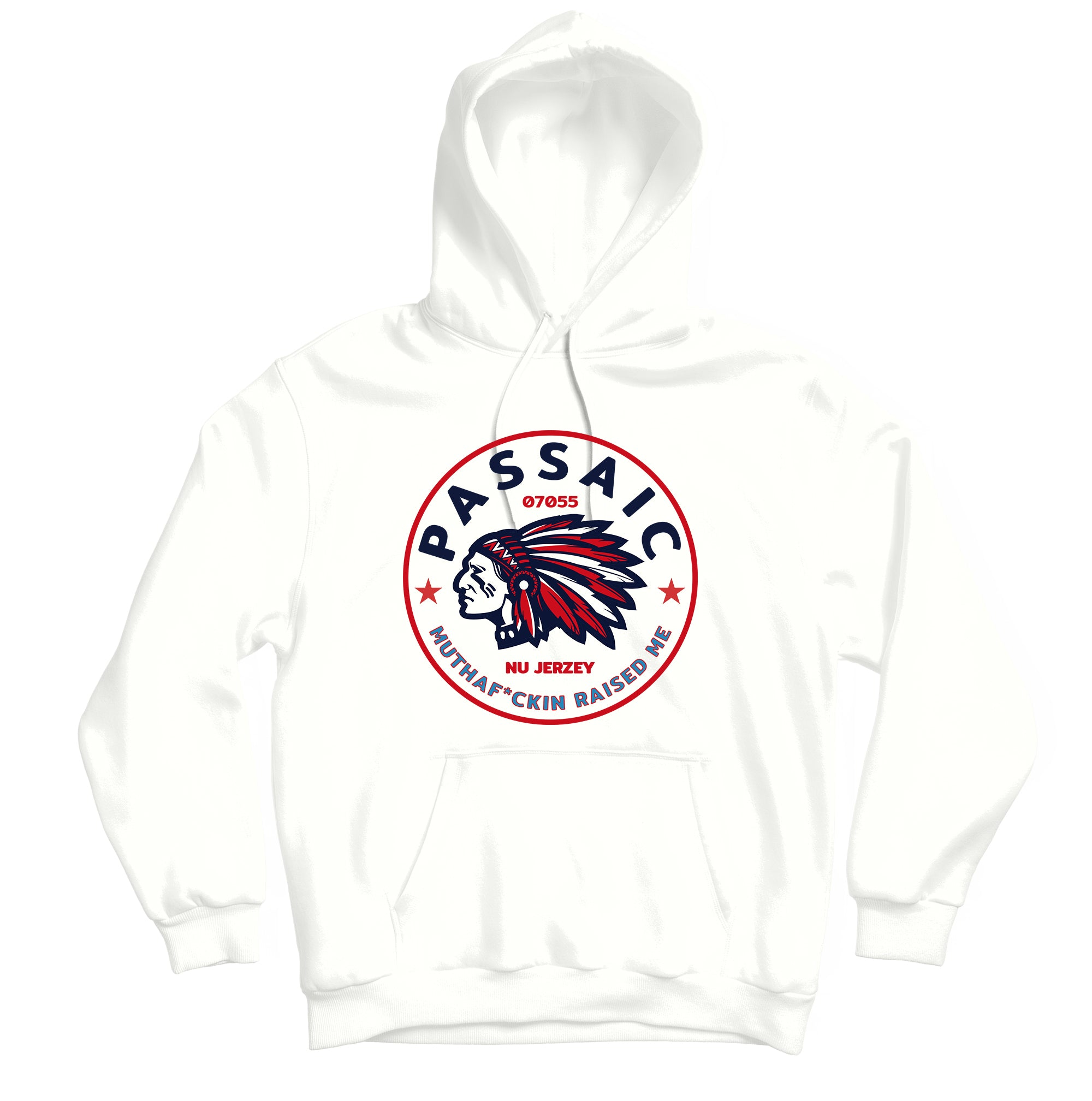 Passaic Raised Me Hoodie - TOPS, TSS CUSTOM GRPHX, SNEAKER STUDIO, GOLDEN GILT, DESIGN BY TSS