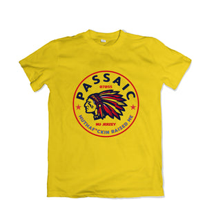 Passaic Raised Me Tee - TOPS, TSS CUSTOM GRPHX, SNEAKER STUDIO, GOLDEN GILT, DESIGN BY TSS