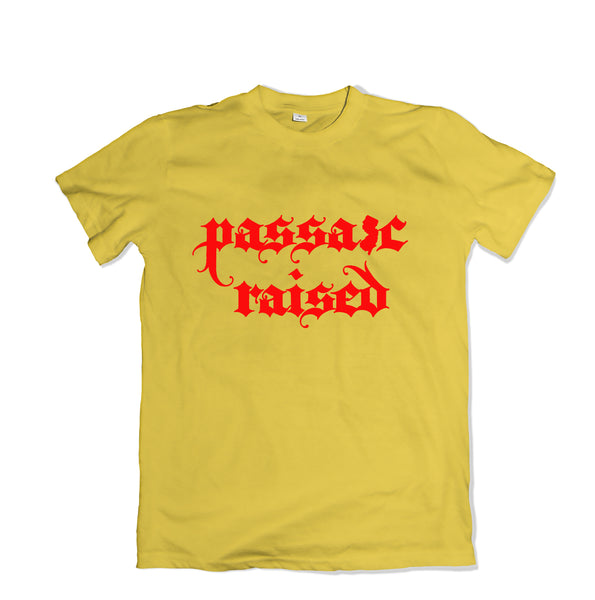 Passaic Raised T-SHIRT - TOPS, TSS CUSTOM GRPHX, SNEAKER STUDIO, GOLDEN GILT, DESIGN BY TSS