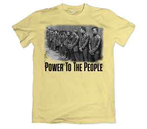 Power to the People Tee shirt